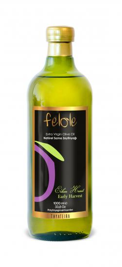 Early Harvest Olive Oil, Cold Pressed 1 Lt Felole Extra Virgin Olive Oil