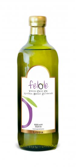 Cold Pressed 1 Lt Felole Virgin Olive Oil